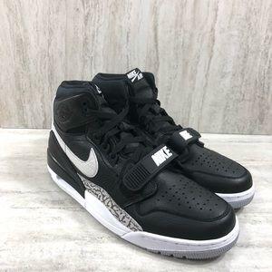 Nike Air Jordan Legacy 312 High Top Black & White